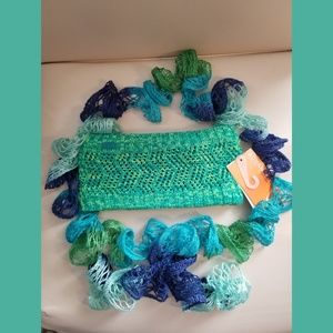 Headwrap and Scarf Bundle
